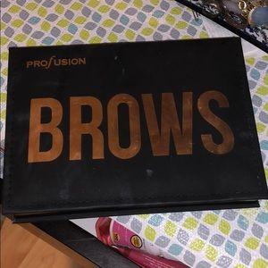Profusion eyebrows powder and stencils